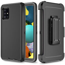 For Samsung Galaxy A51 A71 A32 5G Phone Case + Armor Clip Fit Otterbox Defender