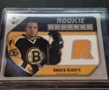 Andrew Alberts Bruins  2005-2006 Upper Deck Rookie Threads  #RT-AA