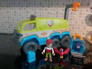 Paw Patrol jungle Terrain rescue Vehicle set Complete.lights &sound