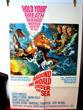 Around The World Under the Sea G-VG.Orig.US 27x41 movie poster David McCallum