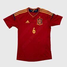 Adidas Spain Iniesta Soccer Jersey Youth XL