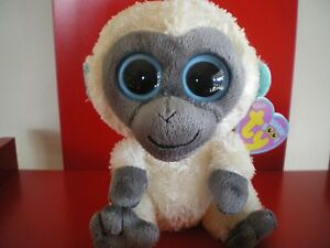 Ty Beanie Boos Bananas the monkey. 6 inch NWMT.Retired &hard to find.