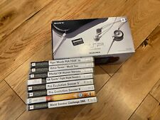 Sony PSP 1003 value pack console with 8 games charger and case