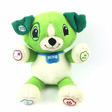 Leapfrog My Pal Scout Plush Green Talking Dog Plush Stuffed Interactive Toy