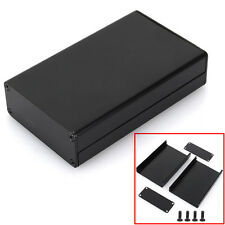 Black 80x50x20mm Aluminum PCB Instrument Box Enclosure Electronic Project Case