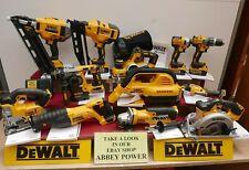 DEWALT XR 18V 12 KIT COMBO DCN660 DCP580 DCH273 DCS355 DCS391 DCD796 5 AH LION