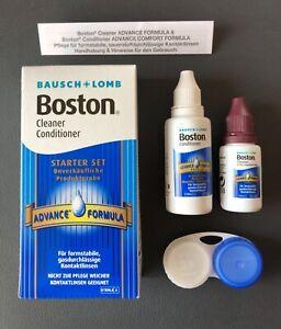 Boston Advance Aufbewahrung und Reiniger  + Linsenbehälter