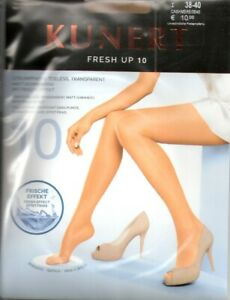 Kunert - FRESH UP 10 toeless - Strumpfhose Gr. I - IV cashmere, teint