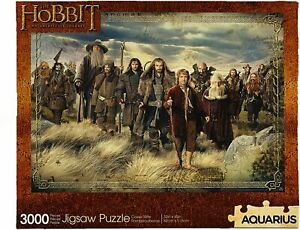 The Hobbit GIANT 3000 piece jigsaw puzzle 1150mm x 820mm  (nm)
