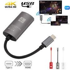 USB 3.1 Tipo C USB-C a HDMI 4K HDTV Adaptador para Samsung Galaxy 10/10 Plus Note