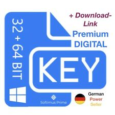 Windows 10 Home OEM E-Mail Key Aktivierungsschlüssel 32 + 64 Bit Product Key