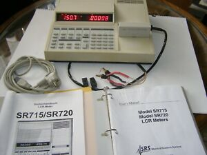 LCR METER SR 715  Standford Research Systems