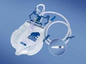 Urinbeutel Urindrainage 2000ml 120cm steril geschlossenes System UROSID® 2000 S