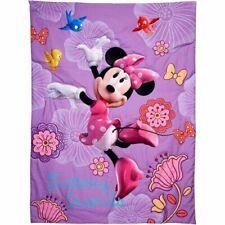 Disney 4-Piece Minnie Mouse Fluttery Friends Toddler Bedding Set