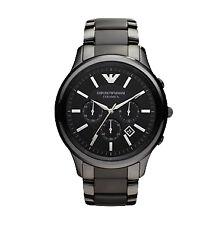 Runde Emporio Armani Quarz - (Batterie) Armbanduhren mit Datumsanzeige