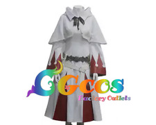 Free Shipping Cosplay Costume Final Fantasy XIV 14 White Mage Uniform Game Cos