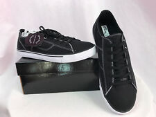 Pastry Cassatta Low Top Sneakers, Black and White, Womens Size 9, New