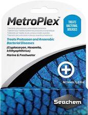 Seachem MetroPlex Parasite Bacteria SALTWATER FRESHWATER Aquarium