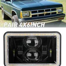 "4x6"" Rectangular LED Headlight Hi-Lo DRL Sealed Beam For Motorcycle ATV Truck"