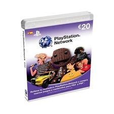 Sony PlayStation Store 20 Euro Tarjeta Prepago