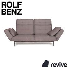 Rolf Benz Mera Fabric Sofa Two Seater Sofa Fabric Grey Function