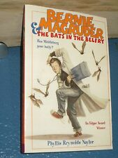 BERNIE MACGRUDER & THE BATS IN THE BELFRY by Phyllis Reynolds Naylor 1416900489
