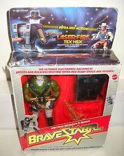 #6638 NRFB Vintage Mattel Bravestarr - Laser Fire Tex Hex Figure