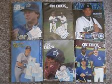 HUGE Seattle Mariners Collection 1977-2012.  Programs, Tickets, Photos, etc.