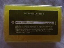 KORRES NATURAL PRODUCTS~FACE AND BODY CALENDULA SOAP CLEANSER BAR~EXP 9/15~GREAT