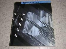 1989.Traverses 46.Le verre.revue centre pompidou.art