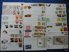 P.R.China.1985 Complete Year Set FDC