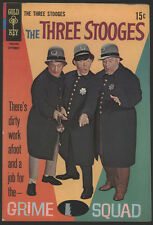 The THREE STOOGES #40, 1968, Gold Key Comics - VG+