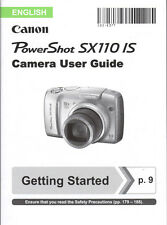 Canon Powershot SX110 is Digital Cámara manual de instrucciones