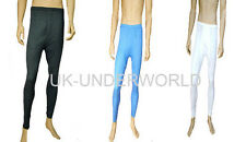 Mens Thermal Extra Warm Long Johns Pants Body Warmer Underwear White Medium