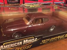 Ertl 1:18 1970 Chevy Chevelle SS454 10 Fastest Item 32758