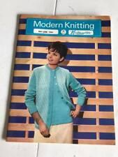 Modern Knitting Magazine by Knitmaster - May June 1964