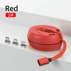 3 in 1 Retractable Fast USB Charging Cable Multi Charger Cord for Android iPhone