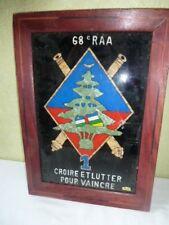 Tableau 68 E RAA Croix et Lutte pour Vaincre militaire militaria