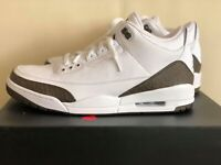 Air Jordan 3 III Retro Mocha 136064-122 White Mens Basketball Shoes Sneakers NIB