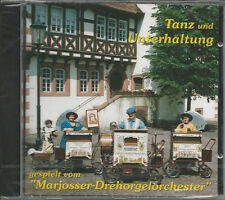 DREHORGEL CD: DREHORGEL-Musik, Tanz+Unterhaltung, Marjosser Drehorgel Orchester
