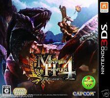Monster Hunter 4 3DS NINTENDO JAPANESE  JAPANZON