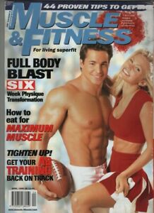 Muscle & Fitness Mag Tommy Wooster In Memory John Grimek April 1999 060121nonr