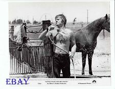 Robert Redford barechested w/hose VINTAGE Photo Little Fauss And Big Halsey