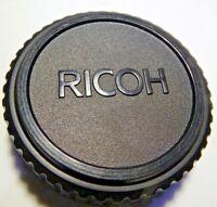 Ricoh Rear Lens Cap for Pentax K PK KR Bayonet Mount  A M SMC