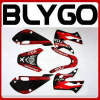 3M WOLF Decals Graphic Stickers Kit KLX 110 Style Fairing PIT PRO Dirt Bike