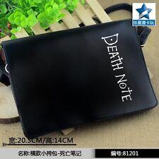 Death Note Mini Flap PU Single Handbag/Messenger/Shoulder Bag/Crossbody Satchel