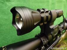 BR158 TACTICAL ZOOM WHITE LED HUNTING LAMP/LIGHT/FISHING