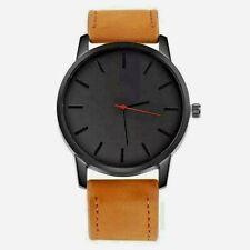 Men Watch Fashion Leather Quartz Watch Casual Sports Watch