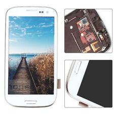 Für Samsung Galaxy S3 i9300 i9305 Weiß LCD Display Touch Screen Montage Rahmen F