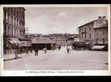 BOURG-de-PEAGE (26) PHARMACIE MAZADE & COMMERCE CASINO ,Place du Marché animée